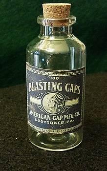 Blasting Caps Still Life  by Michael L Kimble
