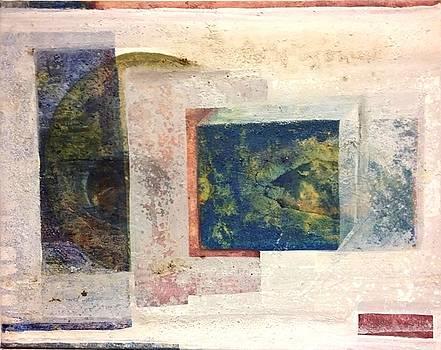 Blau/gelb by Brigitte Willener