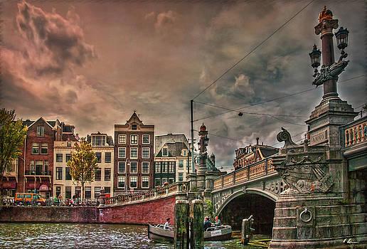 Blauwbrug -Blue Bridge- by Hanny Heim