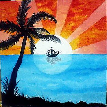 Blazing Sun by Anila Choudary