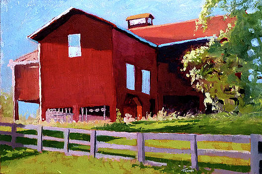 Bleak House Barn No. 3 by Catherine Twomey