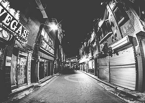 Bleak Street In Fisheye by Hyuntae Kim