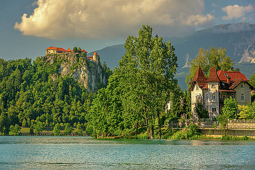Bled Castle by Andrew Matwijec
