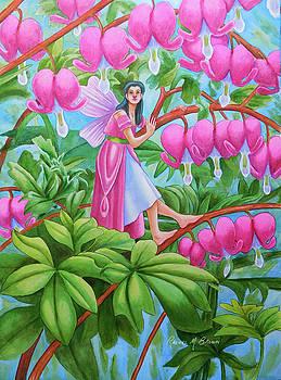 Bleeding Heart Fairy by Rachel Armington