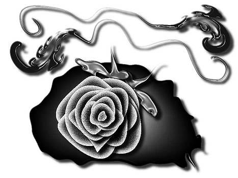 Bleeding Rose by Wendy Keely
