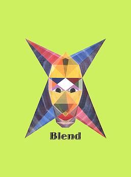 Blend text by Michael Bellon