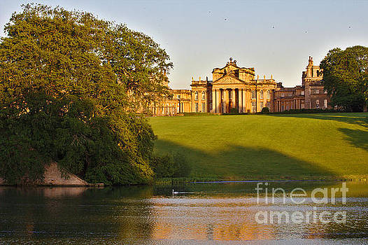 Blenheim Palace and Lake by Jeremy Hayden
