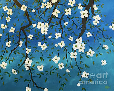 Blessed blossoms by Wonju Hulse
