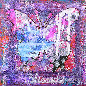 Blessed Butterfly by Lisa Crisman