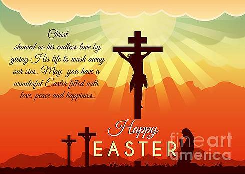 Blessed Easter Crosses by JH Designs