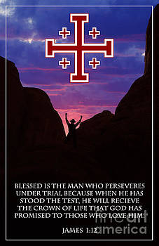 Blessed is the man by Kari Marttila