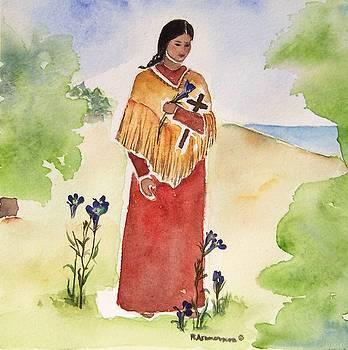 Blessed Kateri Tekakwitha by Regina Ammerman