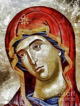 Blessed Virgin Mary by Daliana Pacuraru