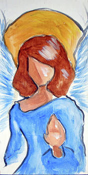Blessing angel by Loretta Nash