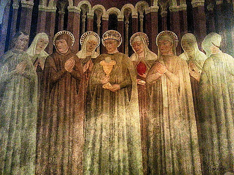 Blessing of Saints by Diana Haronis