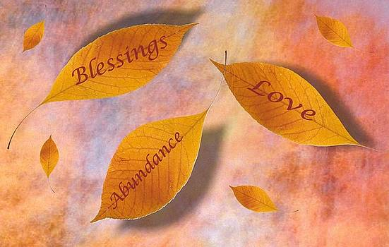 Blessings Collage by Laurel Porter-Gaylord