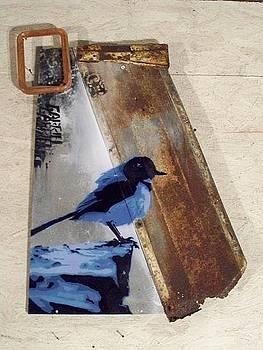 Bleu Bird by Gabriel Prusmack