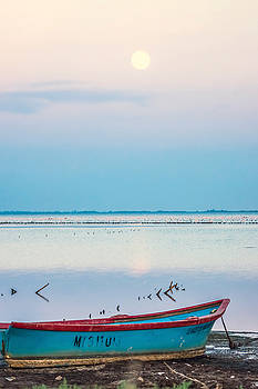 Bleu Boat by Elly De vries