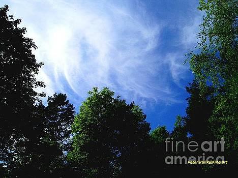 Blie sky meditation by Peter Kulik