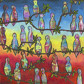 Blind Birds at Sunset by Shawna Morris