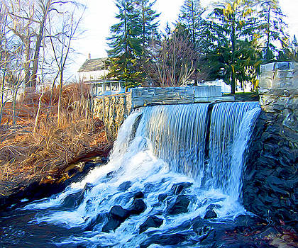 Blissville Falls by Sue  Brehant