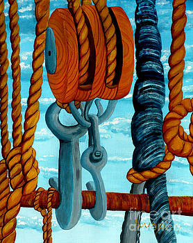 Block and Tackle by Anthony Dunphy