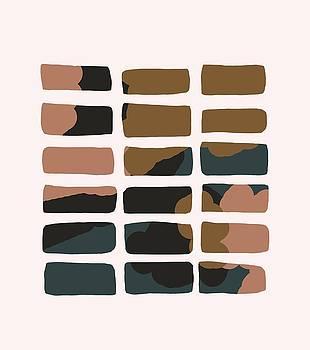 Block Grid Abstract by Cortney Herron