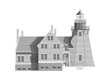 Block Island South East Rhode Island by Anne Norskog