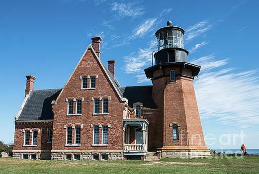 Block Island Southeast Light Historic Lighthouse by Wayne Moran