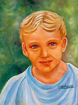 Blonde Boy by Carol Allen Anfinsen