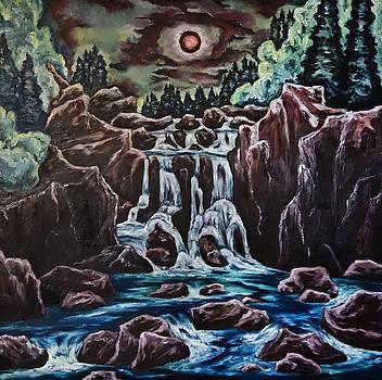 Blood Moon Rising by Cheryl Pettigrew