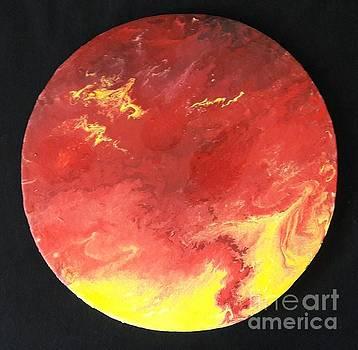 Blood Moon by Usha Rai