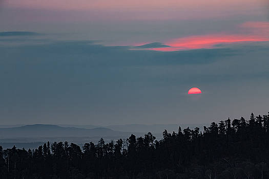 Blood Red Sun by Jakub Sisak