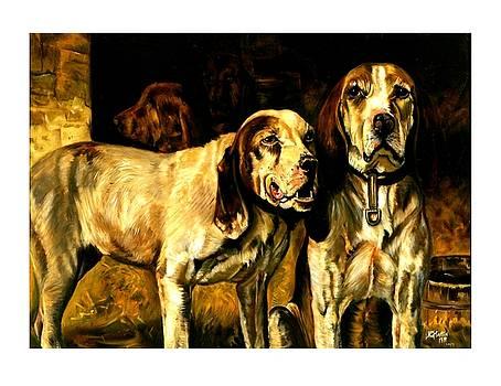 Peter Gumaer Ogden - Bloodhounds Lou Ellen Chattin 1914