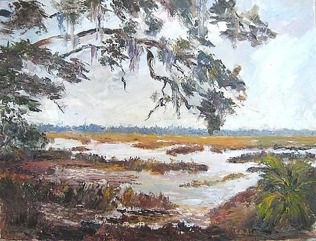 Bloody Marsh Battle  by Albert Fendig