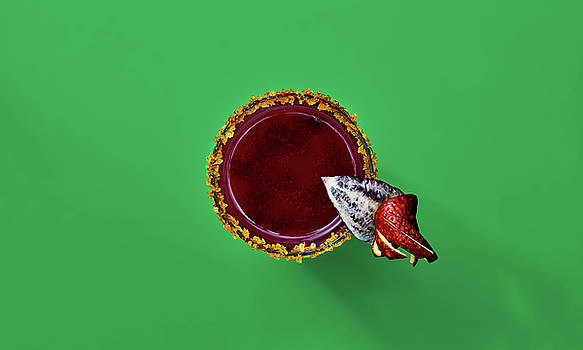 Bloody Orange Cocktail by Slava Shamanoff