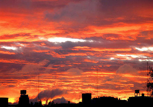 Bloody Sky by Maria Jose Llanos