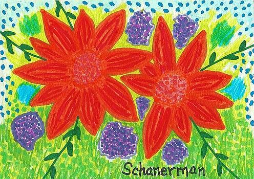 Bloomin' Blossoms by Susan Schanerman