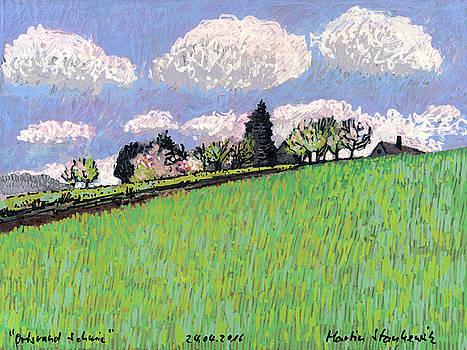Martin Stankewitz - Blooming apple trees,spring landscape