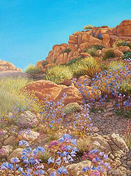 Blooming Desert 2 by Johanna Girard