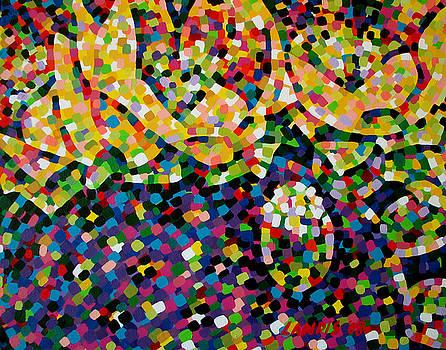 Blooming Prickley by Denise Landis