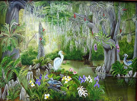 Blooming Swamp by Darlene Green