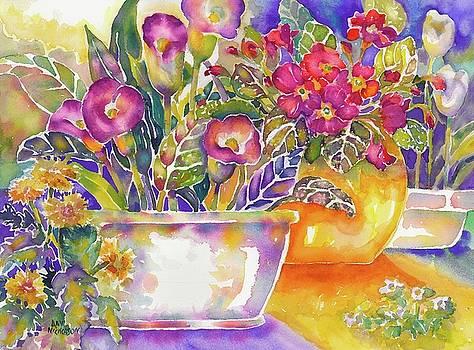 Blooms by Ann Nicholson