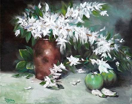Blossom and Apples by Courtney Wilding