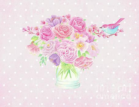 Blossom bird by Wendy Paula Patterson