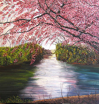 Blossom dance by Atousa Foroohary