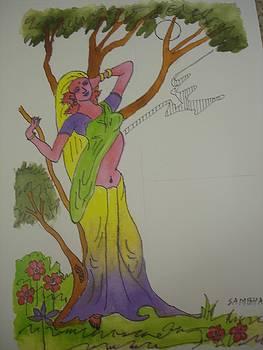 Blossom moon by Sunil Mehta