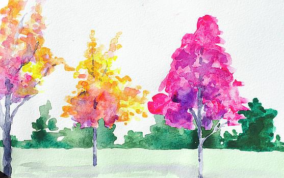 Blossom Trees by Lynn Hansen