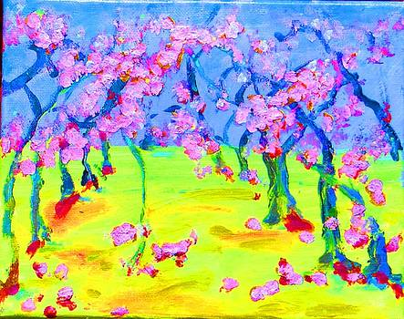 Blossom Trees by Lynn Rogers