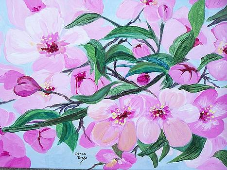 Blossoms by Donna Drake